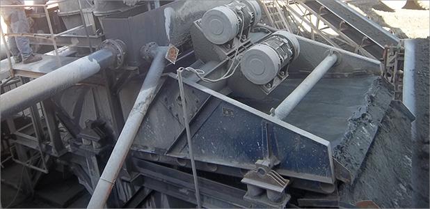 新型煤泥脱水专用筛现场