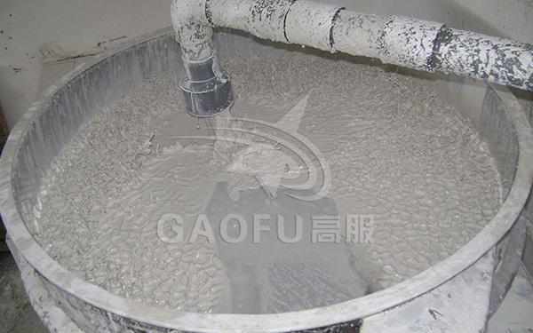 陶瓷泥浆过滤方案