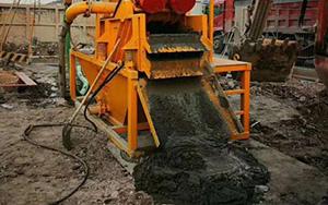 建筑泥浆、钻井泥浆脱水