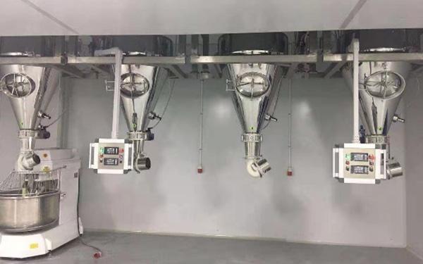 无尘投料输送筛分自动称重系统