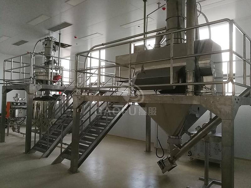 预拌粉、裹粉生产线