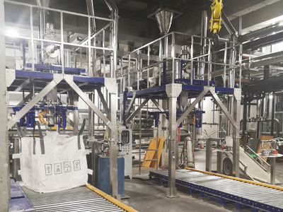 化工粉末混料筛分包装系统