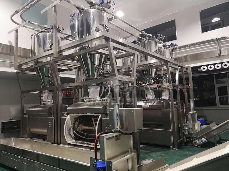 小食品面粉供料系统