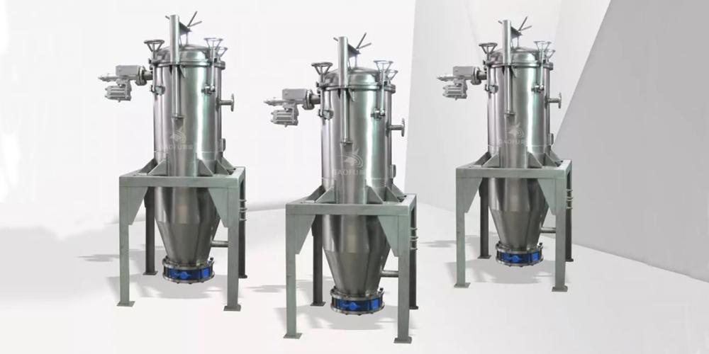 河北某果脯食品公司采购高服自动排渣过滤机