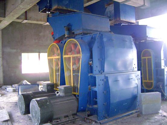 高服齿辊式碎煤机