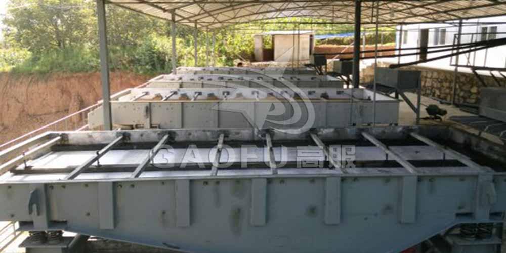 商洛某钒矿厂用高服脱水筛做尾矿处理,获得高额回报